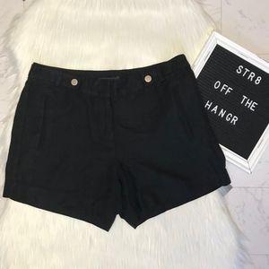 White House Black Market black short shorts size 2